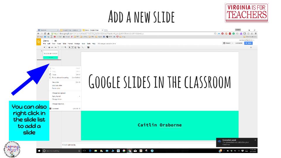 google apps for education gafe slides virginia is for teachers