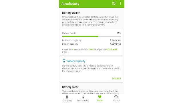 Cara Cek Kesehatan Baterai HP Xiaomi AccuBattery