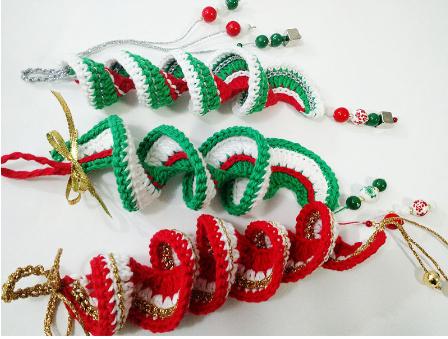 Adorno de navidad a crochet Tejiendo lindo Graciela Gaudi