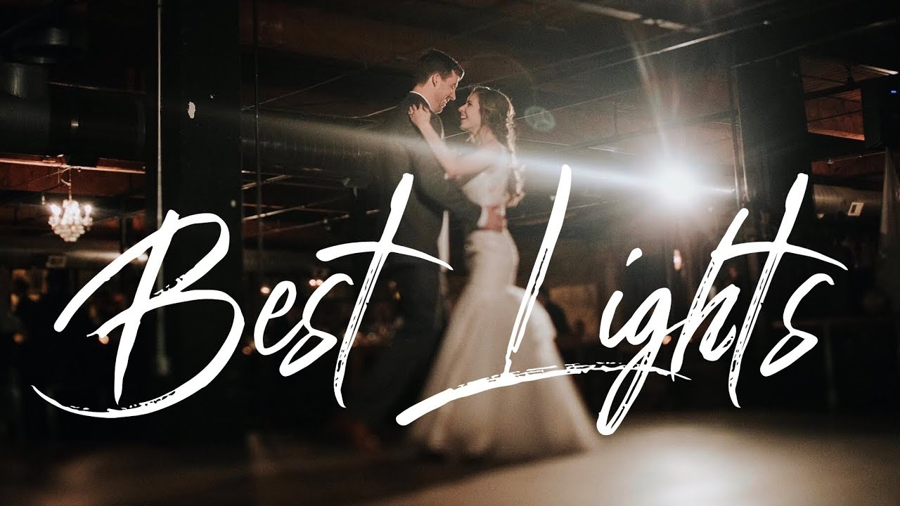 The BEST Lights for Photographing Weddings (NOT FLASH)