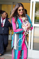 Priyanka Chopra in Colorful Jumpsuit arriving at JFK Airport New York 18 June 2017 ~  Exclusive 011.jpg