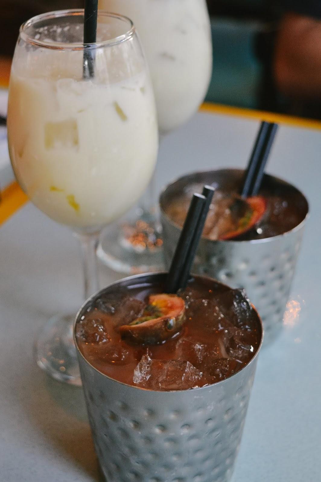 Happy Hour at Turtle Bay - Vegan cocktails
