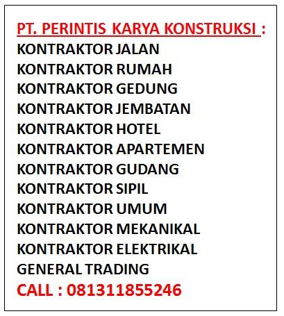 Daftar Perusahaan Kontraktor
