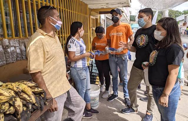 JUVENTUD DE OPOSICIÓN PROMUEVE CUMPLIMIENTO DE MEDIDAS DE BIOSEGURIDAD