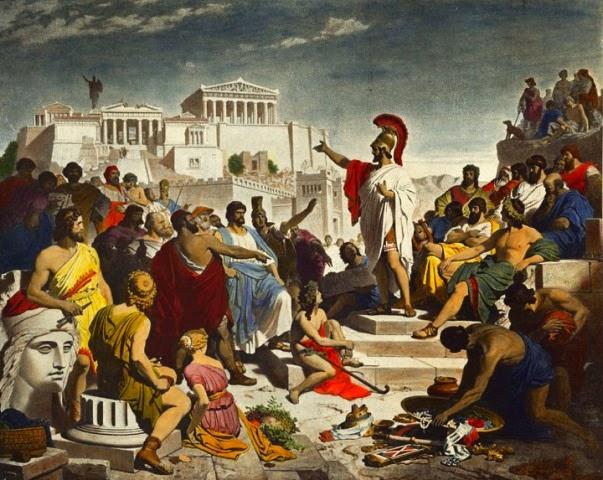 Παραλληλίες: Αρχαία Δημοκρατία – Σύγχρονη εποχή (του Στέφανου Λιούζα)