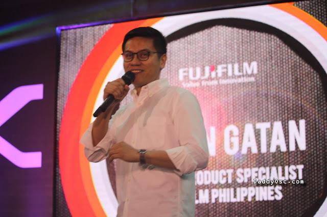 Glenn Gatan, Senior Product Specialist Fujifilm Philippines