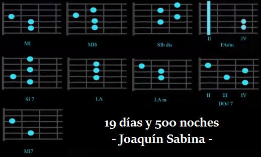 19 dias y 500 acordes guitarra acustica joaquin sabina