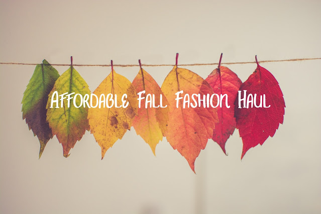 Affordable Fall Fashion Haul + GIVEAWAY!!!