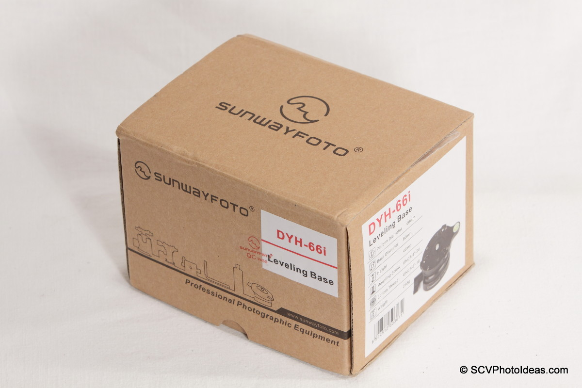 Sunwayfoto DYH-66i box