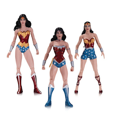 Wonder Woman 75th Anniversary Action Figure 3 Pack by DC Comics