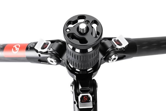 Sunwayfoto T2540CT Ground Level feature