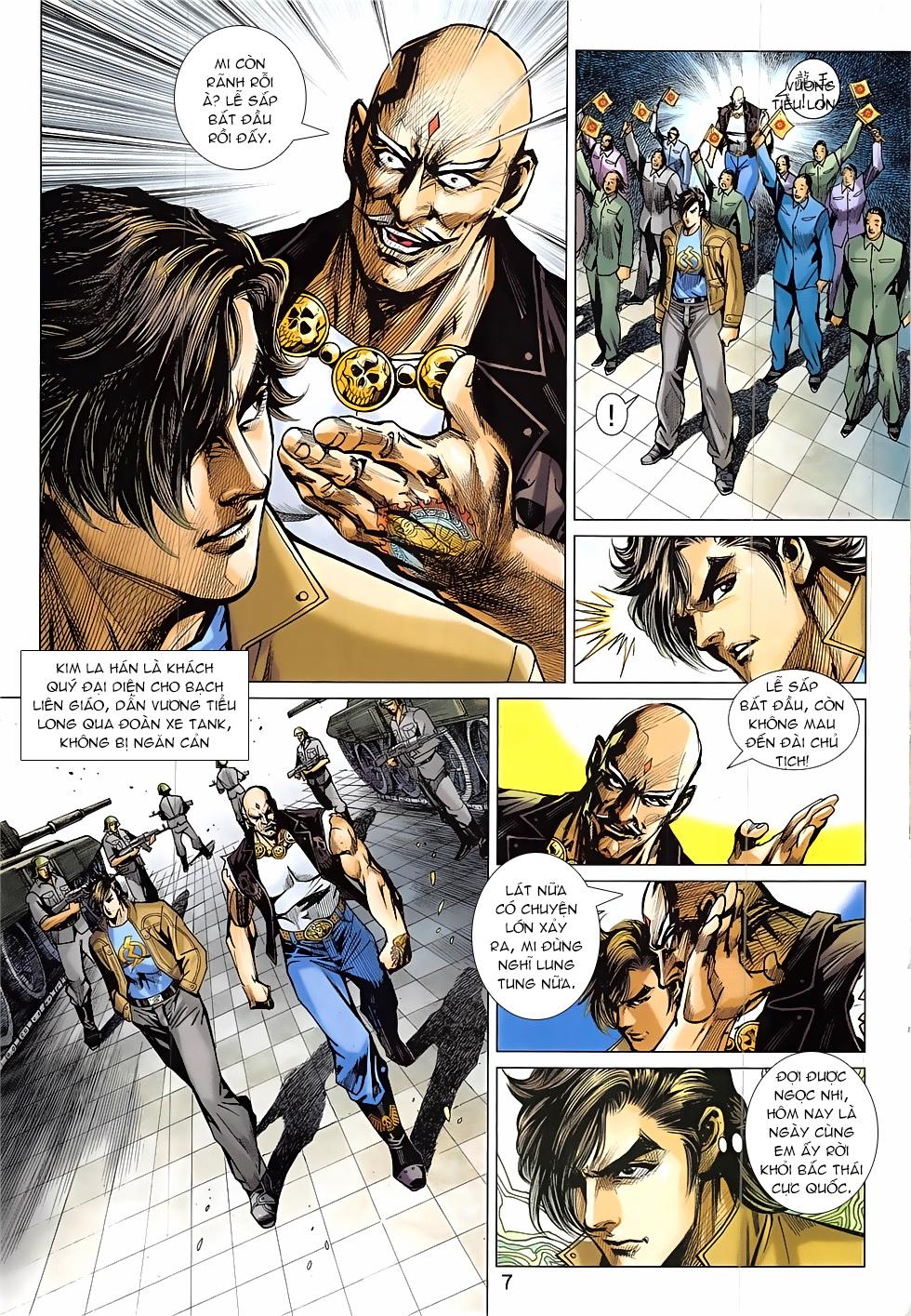 Tân Tác Long Hổ Môn Chap 837 page 7 - Truyentranhaz.net