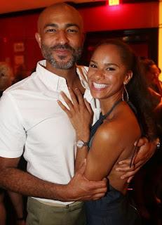 Misty Copeland with her husband Olu Evans