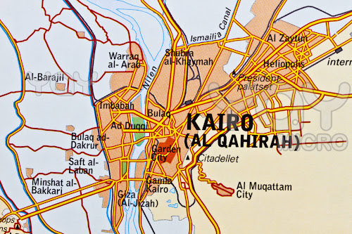 Cairo region map