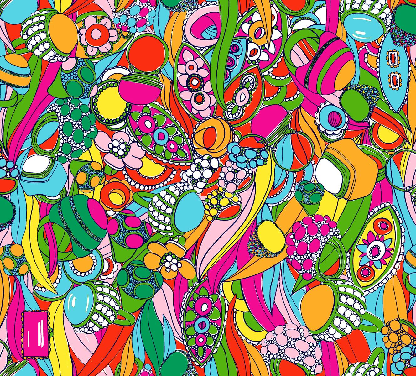 Forty Weeks: Freebie: Lilly Pulitzer Wallpaper Prints