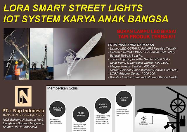 supplier lampu pju pintar
