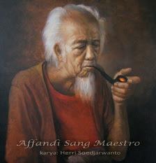 Affandi sang Maestro lukisan Herri Soedjarwanto