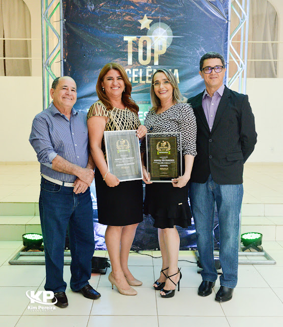 O Hospital São Francisco foi agraciado com o prêmio Top Excelência 2017 como melhor Hospital de Chapadinha.