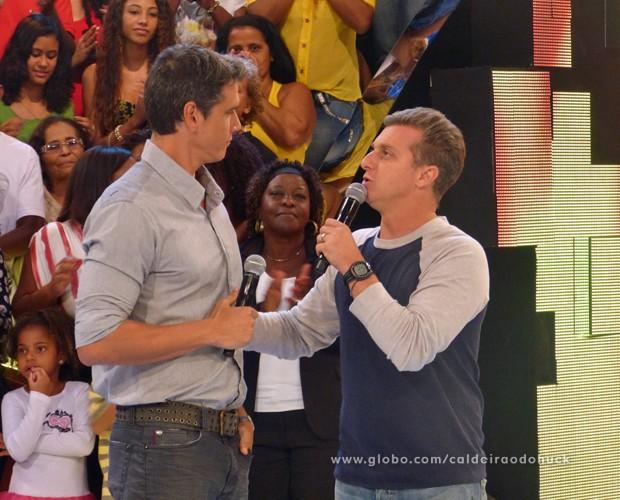 Márcio Garcia pode substituir Luciano Huck na Globo - Bastidores