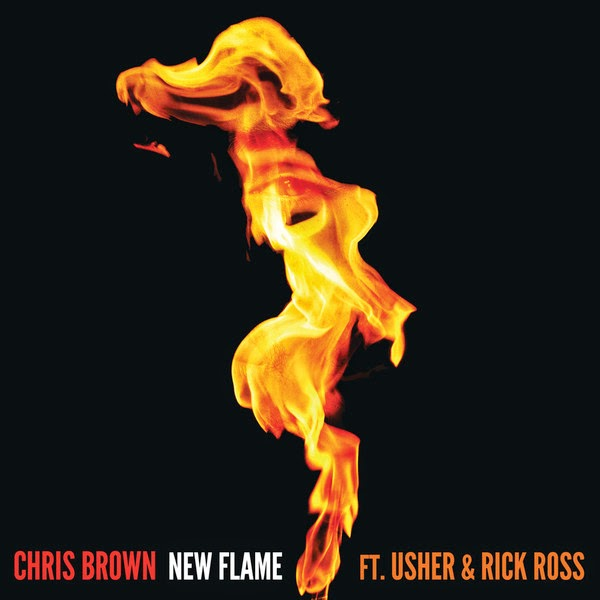 Chris Brown - New Flame (feat. Usher & Rick Ross) - Single Cover