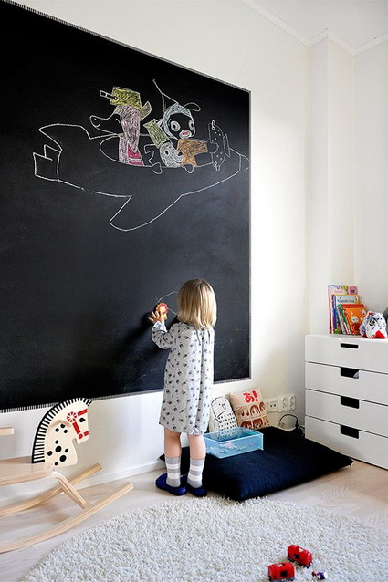 Slate Walls In Children's Rooms 8
