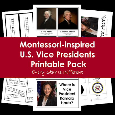 U.S. Vice Presidents Printable Pack