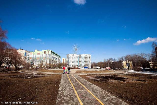 Бульвар Кузнецова к осени реконструируют Сергиев Посад