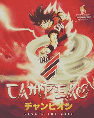 Poster Campeão Levain Cup Athletico Paranaense