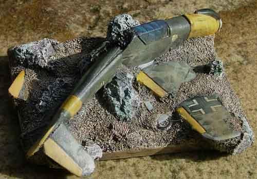 Citadel of War: Flames of War - (Tutorial) - Objective Marker , Shot down Messerschmitt Fighter ...