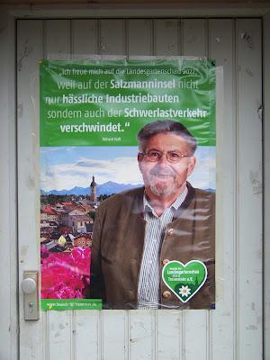 Richard Kraft zur Landesgartenschau Traunstein