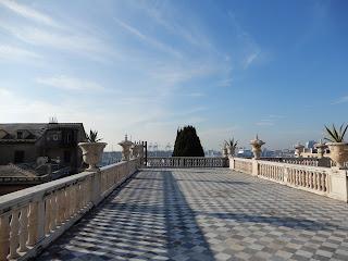 ジェノヴァのMuseo di Palazzo Realeのバルコニー