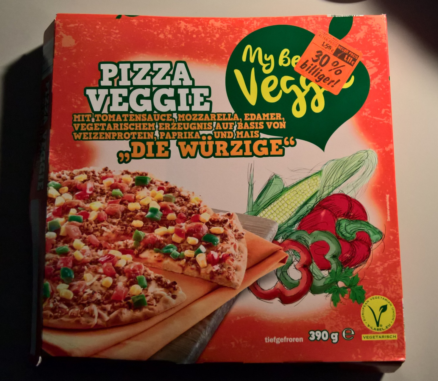 Vegetarische Pizza Birger Unterwegs My Best Veggie