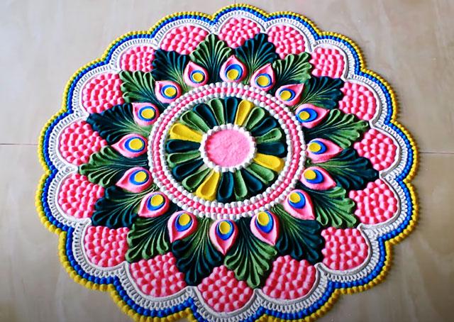 Rangoli Designs For Diwali 2020