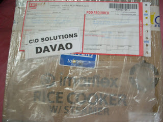 Package from Lazada