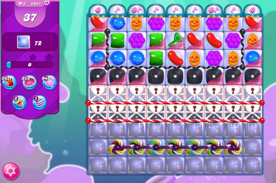 Candy Crush Saga level 8091
