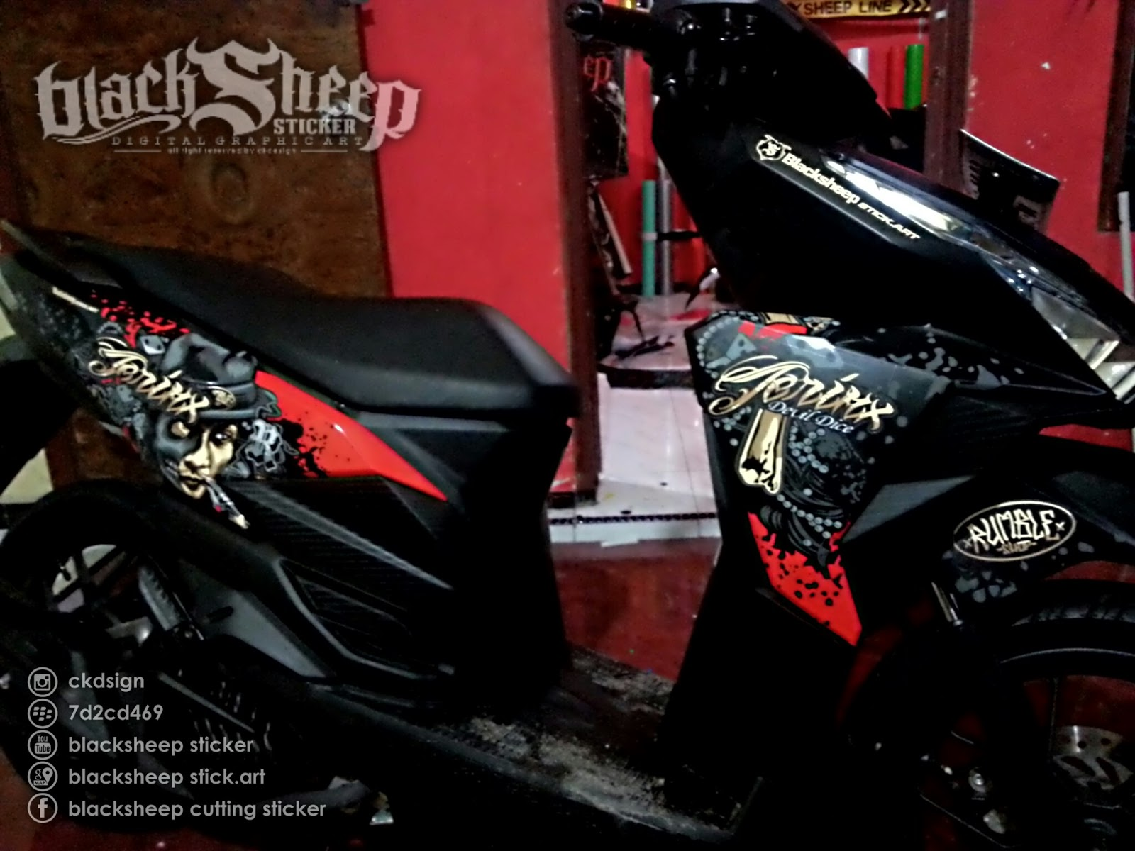blacksheep sticker