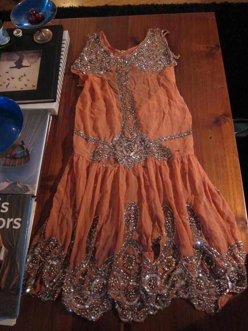 Restoring A 1920s Beaded Dress Part 1