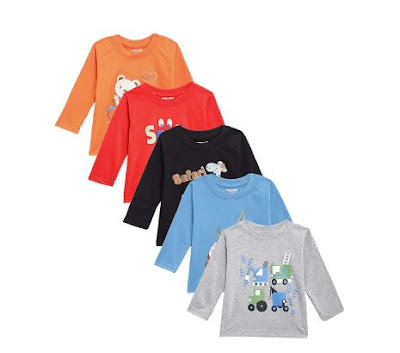 Kuchipoo Boys T shirt Pack Of 5