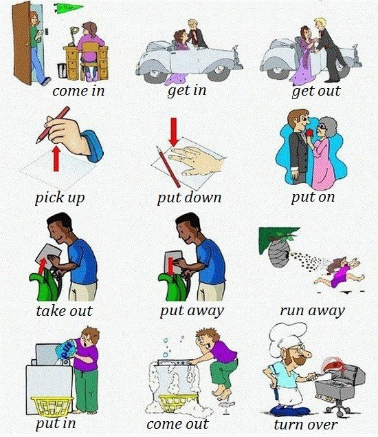 Click on: Phrasal verbs