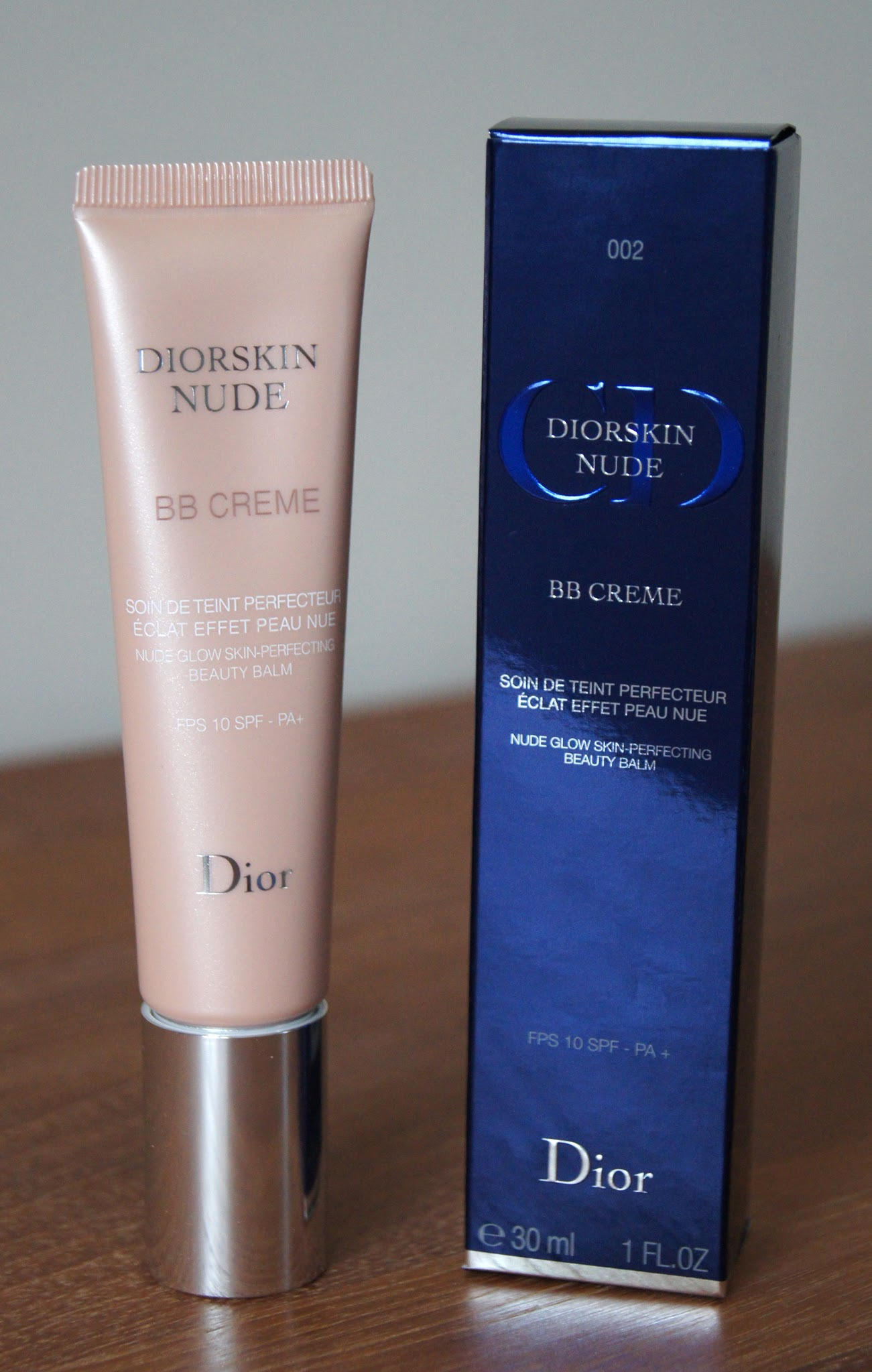 Dior Diorskin Nude BB Creme 002 Review Swatch