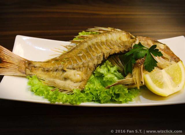 Gripy grilled kodai fish bone from Ichiban Boshi Japanese resturaunt