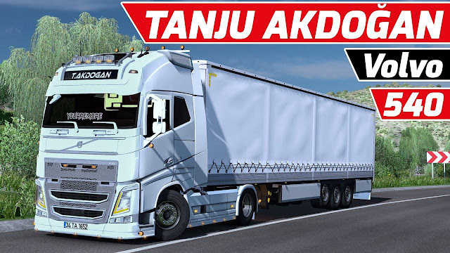 Euro Truck Simulator 2 Volvo FH540 Araç Modu - Full Özellikli v1.37x
