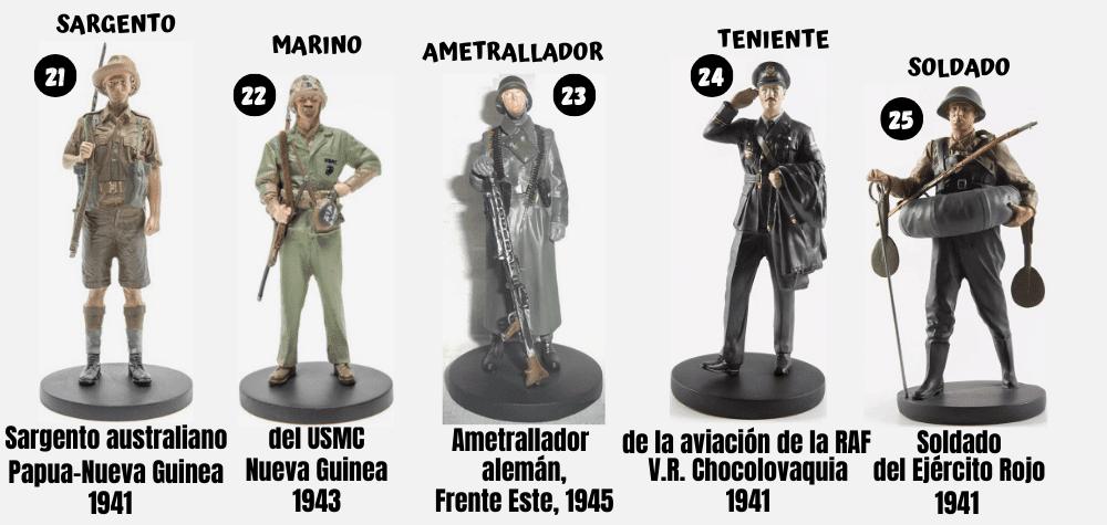 coleccion soldados de la segunda guerra mundial la nacion