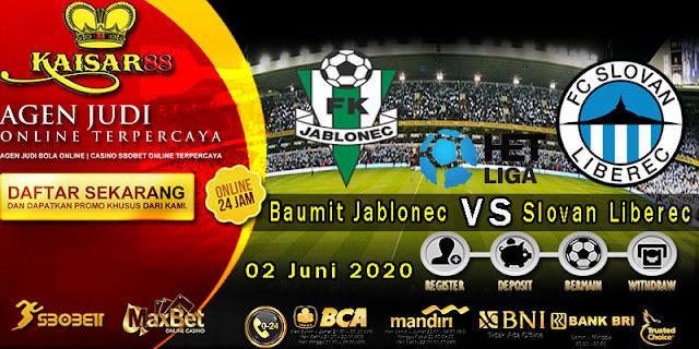 Prediksi Bola Terpercaya Liga Czech Repiblic Baumit Jablonec vs Slovan Liberec 02 juni 2020