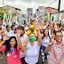 Eunápolis  - Com o vice Wanderson Barros, Cordélia faz caminhada nos bairros Alecrim I e II