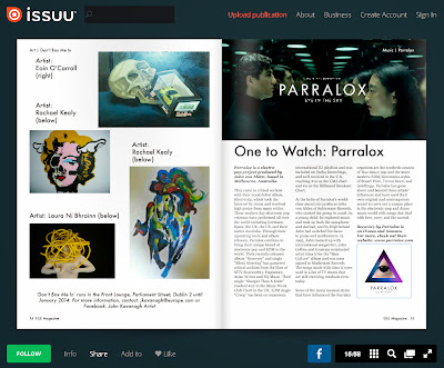 "EILE Magazine dub Parralox the ""one to watch"""