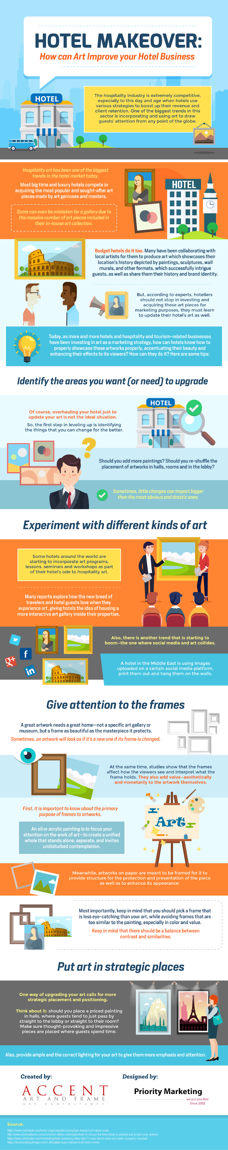 Hotel Makeover: How can Art Improve your Hotel Business #infographic #Business #Hotel Business #Art #Art Improve