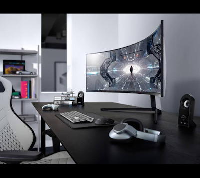 Samsung odyssey G9 monitor for playing games