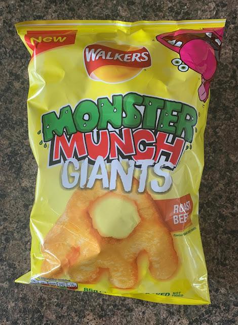 Monster Munch Giants - Roast Beef