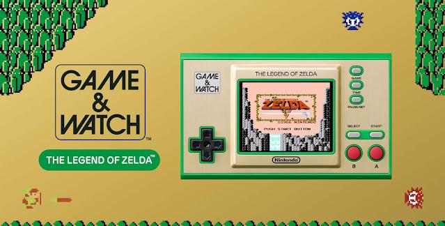 Game & Watch: The Legend of Zelda é anunciado pela Nintendo